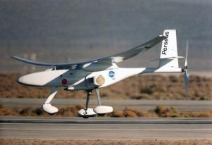 Aeronave no tripulada de la NASA Perseus. Foto: NASA