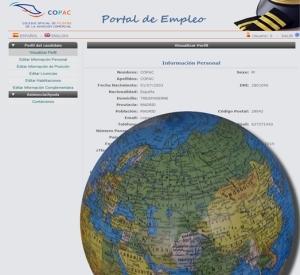 Portal de empleo para pilotos COPACJobs