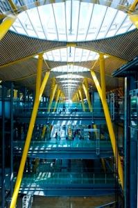 Terminal 4 del aeropuerto Adolfo Suárez Madrid-Barajas. Imagen: AENA