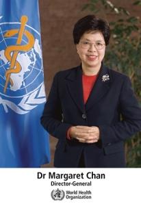Margaret Chan, directora general de la Organización Mundial de la Salud. Foto: WHO