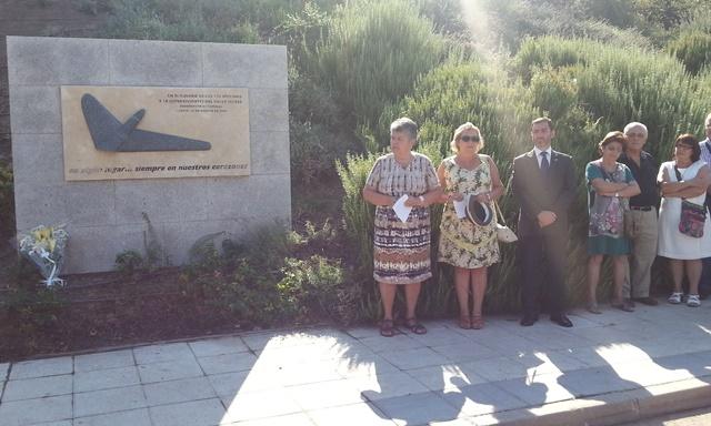 Junto a la JK5022 en el homenaje a las víctimas celebrado esta mañana en Madrid