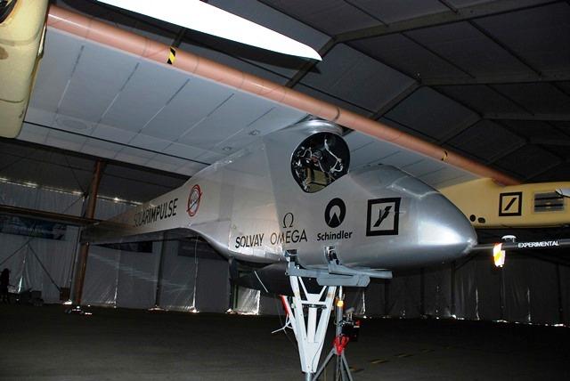 Prototipo HB-SIA con el que se realizó el primer vuelo intercontinental impulsado únicamente con energía solar.  Imagen: COPAC