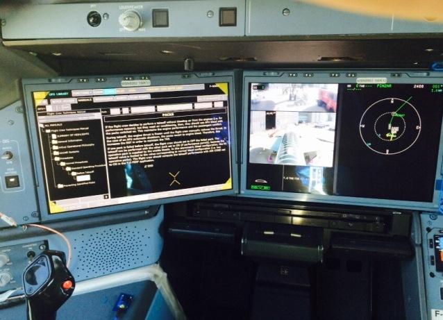 cockpit A350