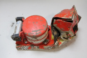 Cockpit Voice Recorder del A320 de Germanwings recuperado tras el accidente. Imagen: BEA