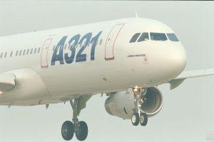 Imagen del A321. Foto Airbus