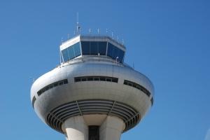 Torre de control. Aeropuerto Adolfo Suárez Madrid Barajas. Imagen COPAC