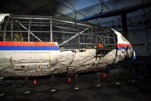 Reconstrucción del MH17. Imagen: Dutch Safety Board