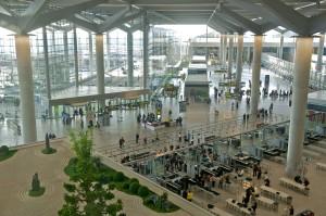 Controles de seguridad en el aeropuerto de Málaga. Foto: AENA
