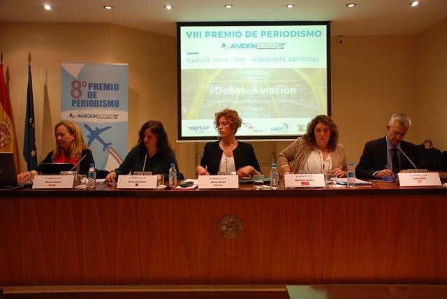 Representantes de UPyD, Podemos, PSOE y Ciudadanos presentaron sus propuestas ayer. Imagen: COPAC
