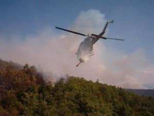Operaciones de extinción de incendios. Foto COPAC